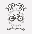 fitness lifestyle design vector image vector image