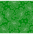 oak pattern green vector image