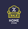 poster store goods for house sale banner vector image vector image
