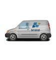 car vehicle van icon delivery cargo vector image vector image