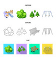 design of urban and street logo collection vector image vector image