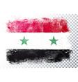 distressed grunge flag syria vector image