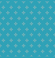 geometric flowers coordinating patterns seamless vector image