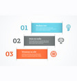 simple abstract presentation vector image vector image