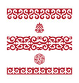 traditional ornament of middle asia vector image vector image