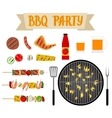 barbecue party vector image vector image