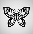 Butterfly Tribal vector image vector image