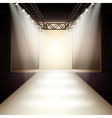 Fashion Runway Background vector image vector image