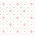 seamless pattern modern geometric ornament vector image vector image
