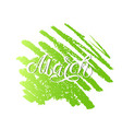 spring month hand lettering march month vector image