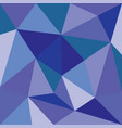 Triangle background or blue flat surface pattern vector image