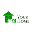 your home vector image vector image