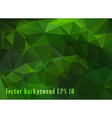 Bright green abstract geometric pattern vector image