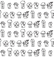 Hand drawn houses seamless pattern childish vector | Price: 1 Credit (USD $1)