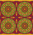 oriental pattern traditional seamless ornament vector image vector image