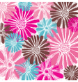 pastel floral card vector image vector image