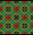 patchwork seamless pattern with ethnic motifs vector image vector image