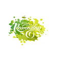 ramadan mubarak similar vector image vector image