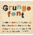 Retro grunge font vector | Price: 1 Credit (USD $1)