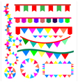 Ribbon for party vector image vector image