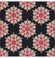 Abstract seamless flower pattern for fabric vector image vector image
