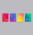 backgrounds abstract gradient color pattern vector image