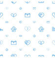 broken icons pattern seamless white background vector image vector image