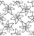 LilyPattern2 vector image vector image