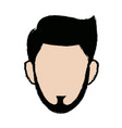 profile man male person head avatar vector image