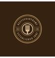 Restaurant Shop Design Element vector image