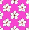 Sketch spa flowersl in vintage style vector image