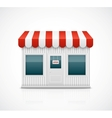 Business stall vector image vector image