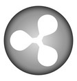 ripple icon on white vector image