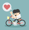 business happy show love vector image vector image