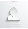 icon of businessman vector image vector image