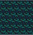 Seamless Isometric Triangle Cube Hexagonal vector image vector image
