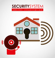 security systems design vector image vector image