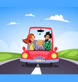 travel and journey concept vector image
