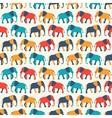 animal seamless pattern elephant vector image