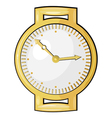 Cartoon watch eps10 vector image vector image