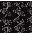 Ginkgo biloba pattern vector image vector image