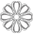 hand drawn ornament vector image vector image