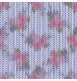 seamless chevron pattern fabric textile vector image