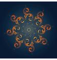 Tribal sun vector image vector image