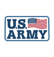 us army emblem flag of america armed forces