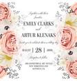 Wedding floral watercolor invite invitation save