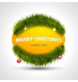 A royal modern christmas background new year vector image