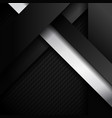 abstract black and white stripes diagonal vector image vector image
