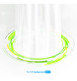abstract futuristic vector image vector image