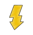 flash light photo symbol isolated icon vector image vector image